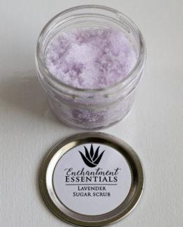 Lavender Sugar Srub